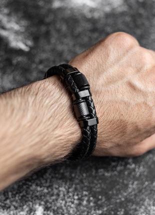 """Стильный браслет """"black"""""""