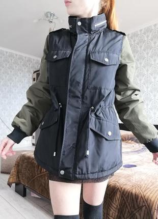 Куртка парка бомбер ветровка