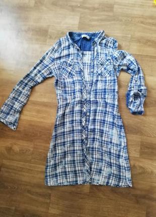Рубашка - плаття