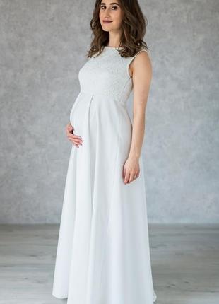 Для беременных свадебное платье
