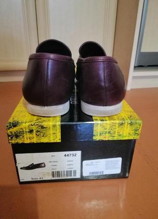 Стильные кожаные мужские туфли6 фото