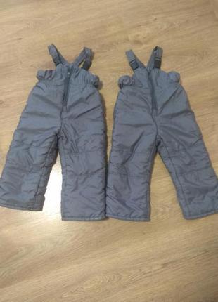 Полукомбинезон, штаны для двойни, близнецов