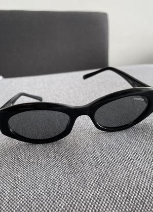 Солнцезащитные очки polaroid винтаж тренд 2021