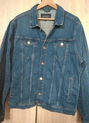 Джинсовая куртка colins, р.xxl