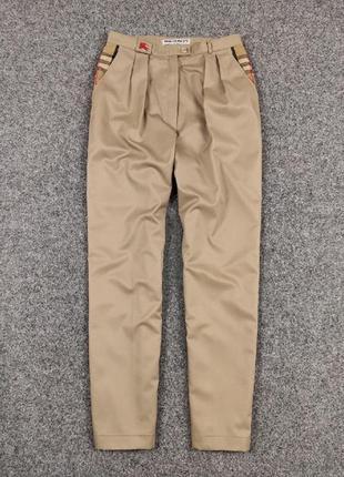 Шикарные винтажные брюки burberry london оригинал  louis feraud rundholz annette