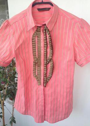 Яркая блуза в полоску, испания