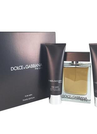 Подарочный набор dolce&gabbana the one for men,сша