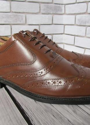 Кожаные туфли броги business class