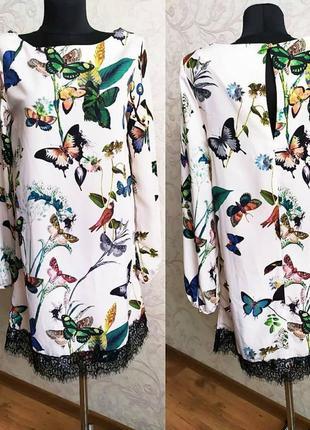 Неймовірно ніжна сукня в весняний  принт