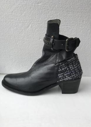 Шикарнейшие ботинки! натуральная кожа!