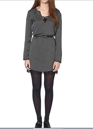 Красивое и стильное брендовое платье с ажуром от s.oliver