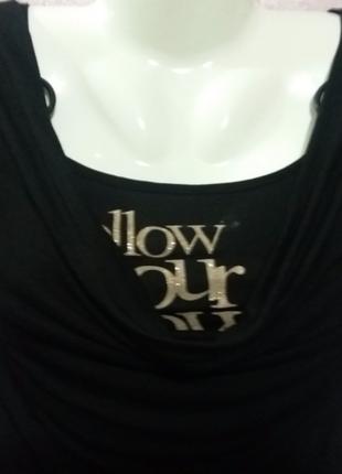 Элегантная, очень нарядная, качественная блуза-двойка. р-р 46-48.