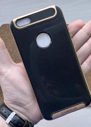 Чехол противоударный черный на для айфон iphone 6 + s plus плюс чохол силиконовый