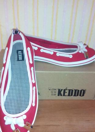 Красивые туфельки мокасины кeddo
