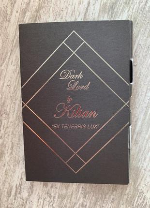 Набор пробников парфюмированной воды kilian dark lord & black phantom