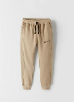 Спортивные штаны, джоггеры, на мальчика, спортивні штани, джогери, 152 см, zara
