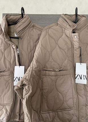 Zara курточка последние 2шт м