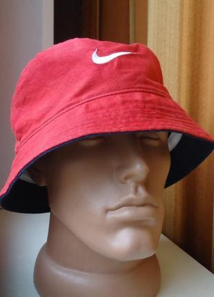 Шляпа панама nike usa двухсторонняя оригинал (57)