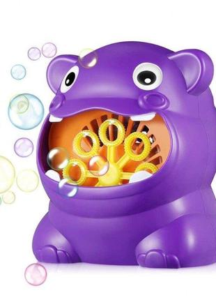 Генератор для мыльных пузырей бегемотик