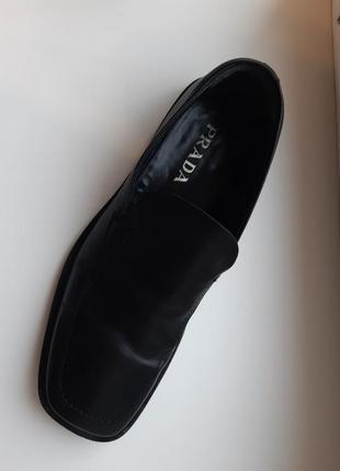 Мужские туфли  prada италия