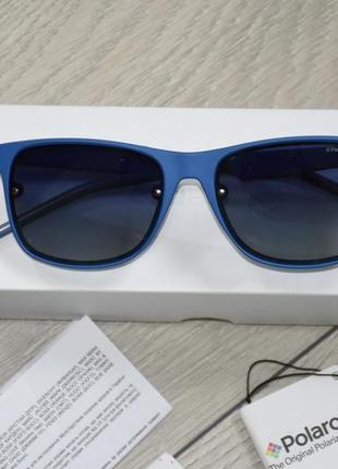 Солнцезащитные очки polaroid pld 6018/s tn555z7 оригинал линзы с поляризацией