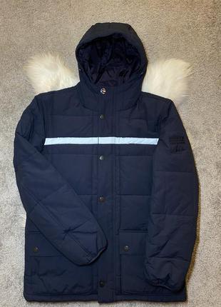 Мужская зимняя куртка barbour x steve mcqeen goshen оригинал