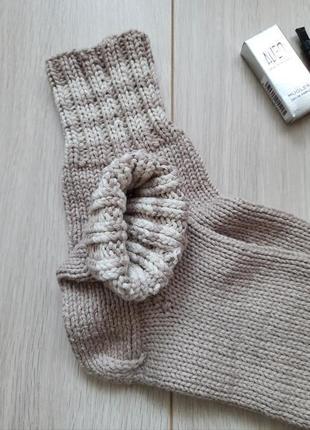 Вязаные носки - ручная работа hand made