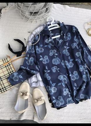 Атласная блуза рубашка сорочка блюзка джемпер