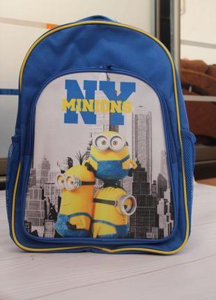 Рюкзак школьный миньон disney