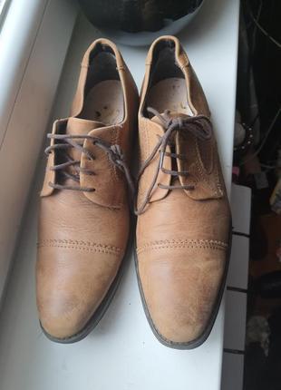 Туфли из качественной мягкой натуральной кожи 40 р