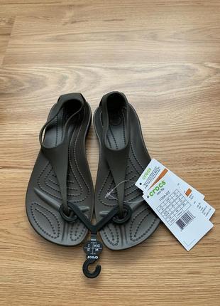Кроксы crocs sexy flip оригинал