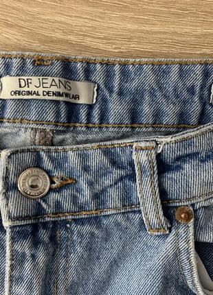 De facto джинсы мом fit