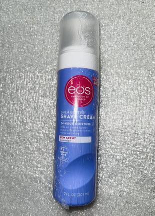 Пена для бритья с ароматом лаванды eos оригинал