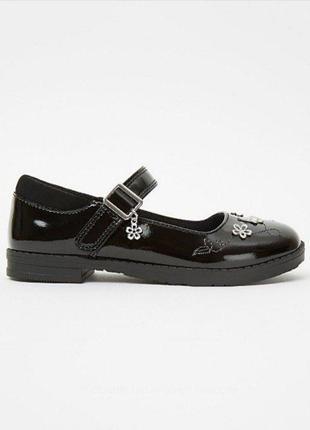 Туфли лакированные для девочки р.31 george