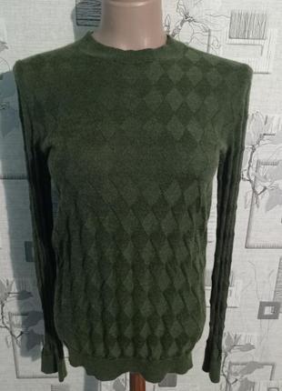 Тоненький трикотажный свитер kash