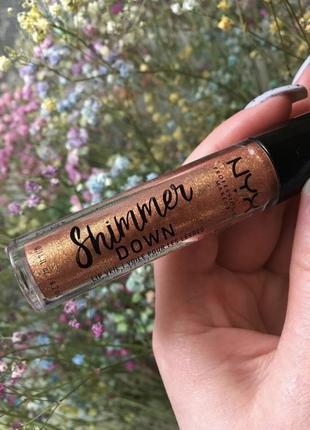 Блеск для губ nyx - lip shimmer down {02 honey pie} - 4.2 ml
