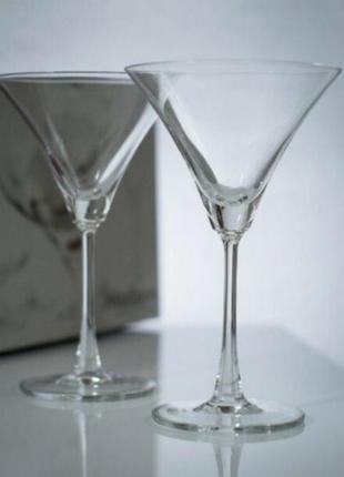 Новые большие бокалы madison ocean для мартини и коктейлей 2 шт по 285 мл
