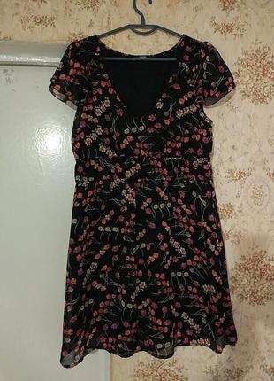 Платье летнее шифоновая
