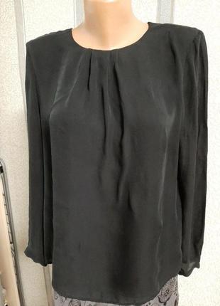 Блузка  дизайнерская, шелк