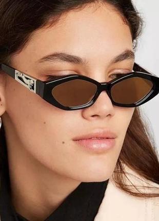 Чёрные очки тренд 2021