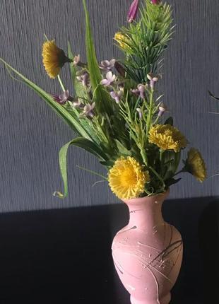 Цветы в вазе, композиция, подарок, флористика