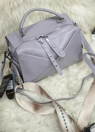 Женская кожаная сумка polina eiterou . кожаная сумка .кроссбоди. сумка из натуральной кожи