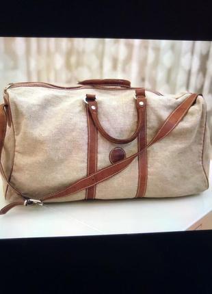 Дорожня сумка кожа шкіра