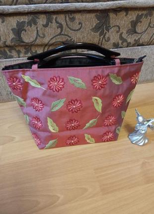 Итальянская, летняя, женская сумка, сумочка.