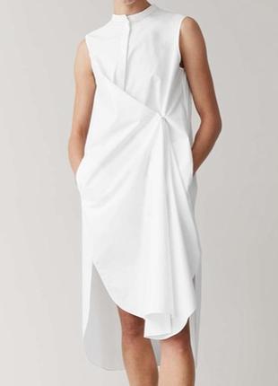 Cos оригинальное платье рубашка 34