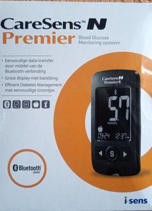 Глюкометр caresens n premier с функцией bluetooth