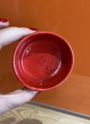 Соусник соусница керамика ручной работы пиала тарелка посуда