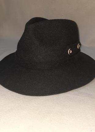 Фетровая шляпа  федора р.60