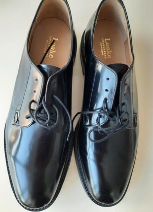 Туфли дерби оригинал мужские loake. след 32,6 см на 47 48  размер
