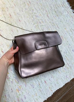 Кожаная сумка galanty
